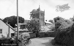 St Petrock's Church c.1955, Timberscombe