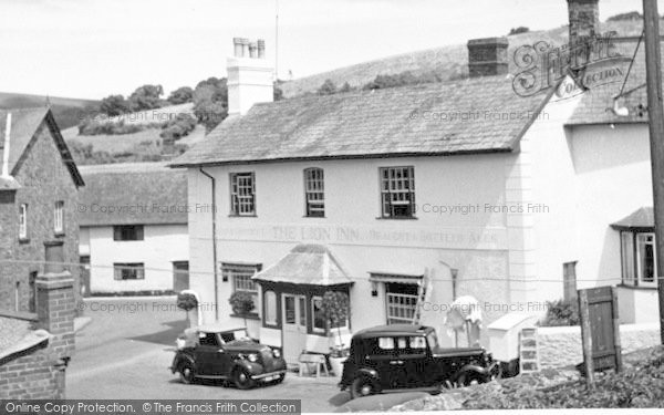 Photo of Timberscombe, The Lion Inn c.1955