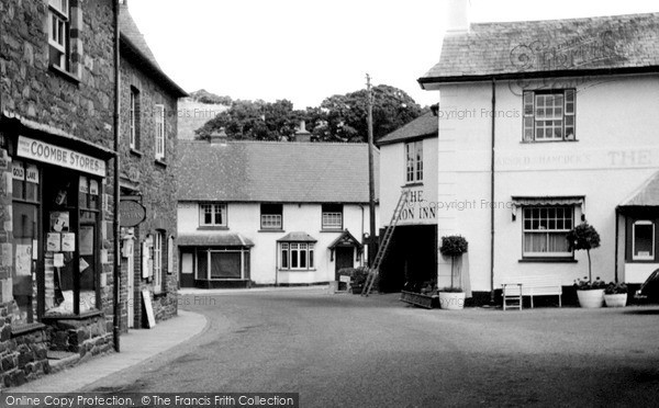 Photo of Timberscombe, The Village c.1955