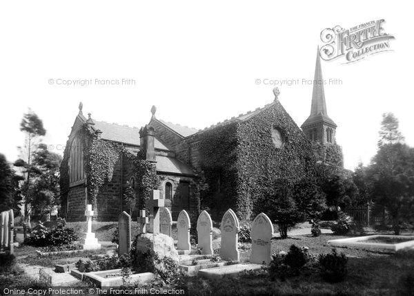 Photo of Timperley, Christ Church 1898