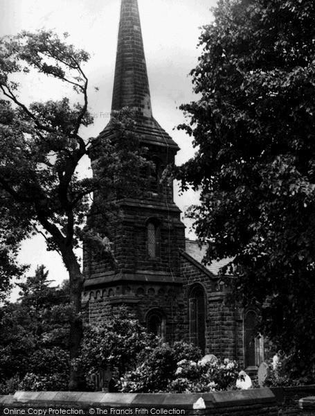 Photo of Timperley, Christ Church c.1955