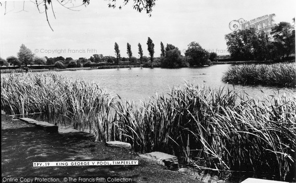 Photo of Timperley, King George V Pool c.1960