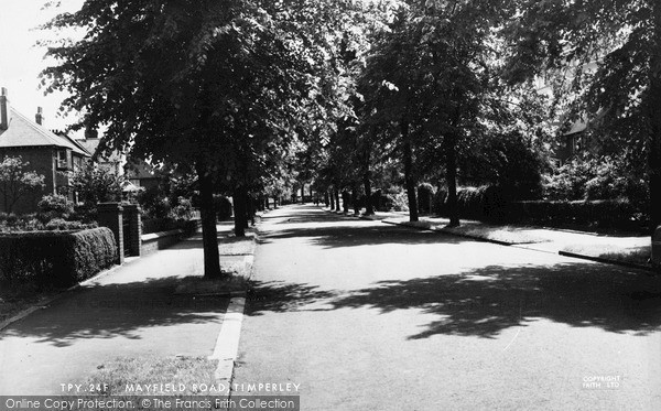 Photo of Timperley, Mayfield Road c.1960