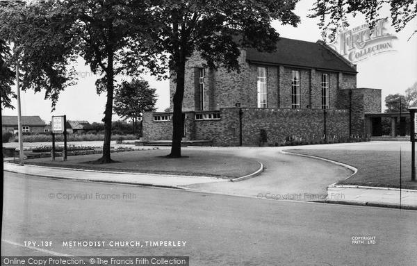 Photo of Timperley, Methodist Church c.1955