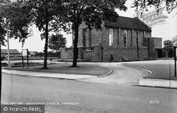 Timperley, Methodist Church c.1955