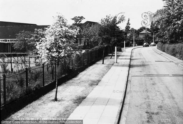 Photo of Timperley, Moss Lane c.1960