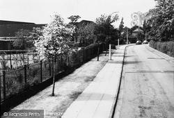 Timperley, Moss Lane c.1960