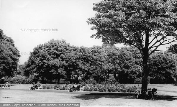 Photo of Timperley, Newton Park c.1960