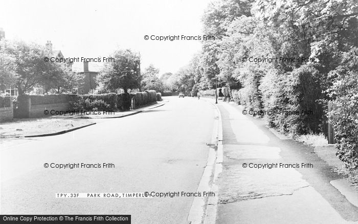 Photo of Timperley, Park Road c1960