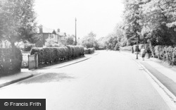 Timperley, Park Road c.1960