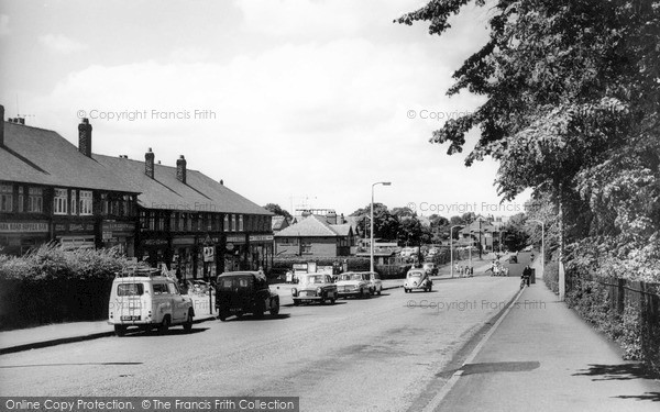Timperley, Park Road c1960