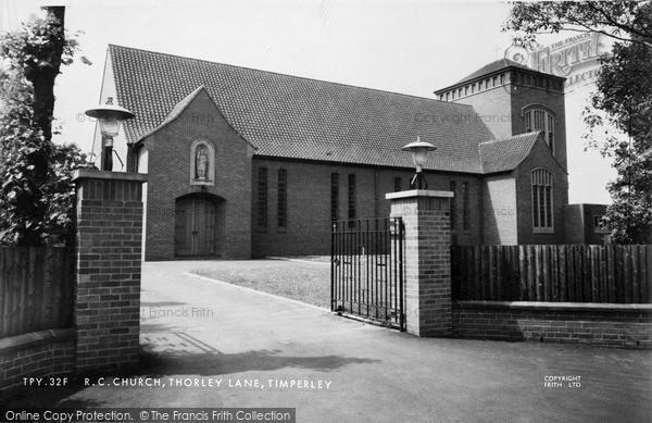 Photo of Timperley, St John The Baptist R.C. Church c.1960