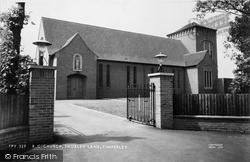 Timperley, St John The Baptist R.C. Church c.1960