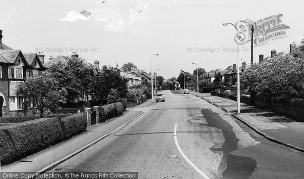 Photo of Timperley, Stockport Road c.1960