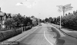 Timperley, Stockport Road c.1960