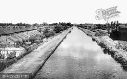 Timperley, The Canal c.1960