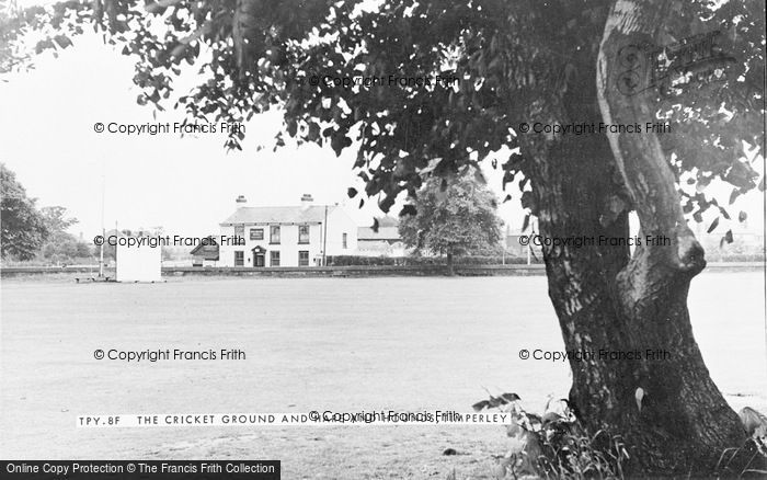 Photo of Timperley, The Cricket Ground And Hare And Hounds c.1955