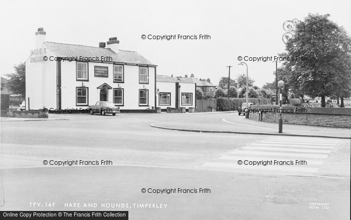 Photo of Timperley, The Hare And Hounds c.1960