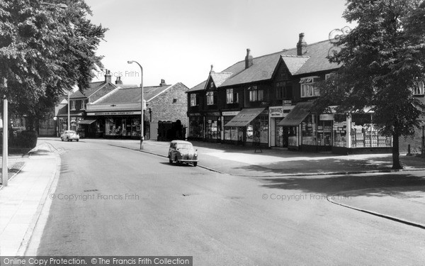 Photo of Timperley, the Mayfield Buildings c1960