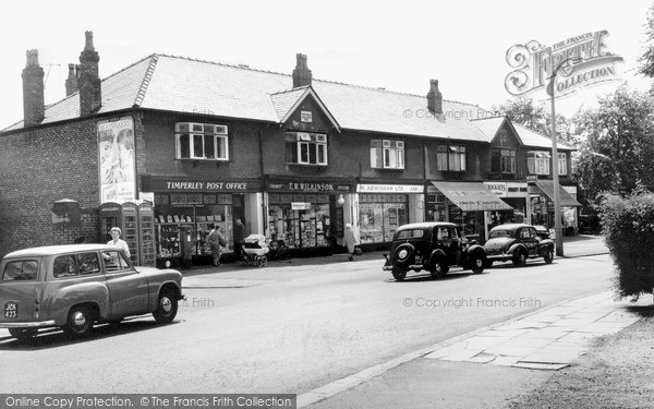 Timperley, the Mayfield Buildings c1960