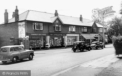 Timperley, The Mayfield Buildings c.1960