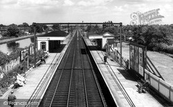 Timperley, The Station c.1960