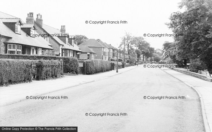 Photo of Timperley, Thorley Lane c.1955