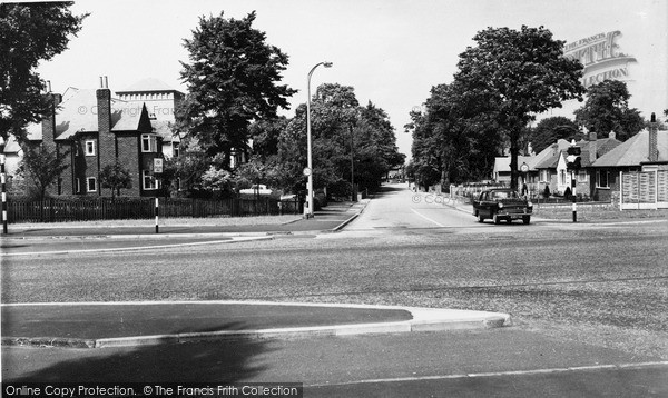 Photo of Timperley, Thorley Lane c.1960