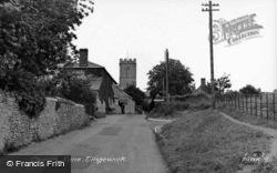 Church Lane c.1955, Tingewick