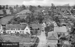 View From The Church c.1950, Tingewick