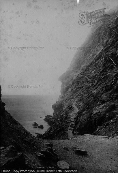 Photo of Tintagel, 1894