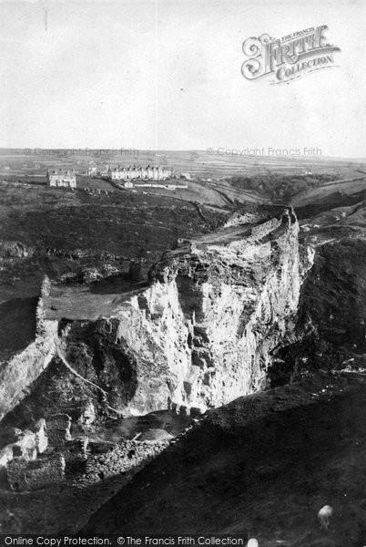 Photo of Tintagel, 1906