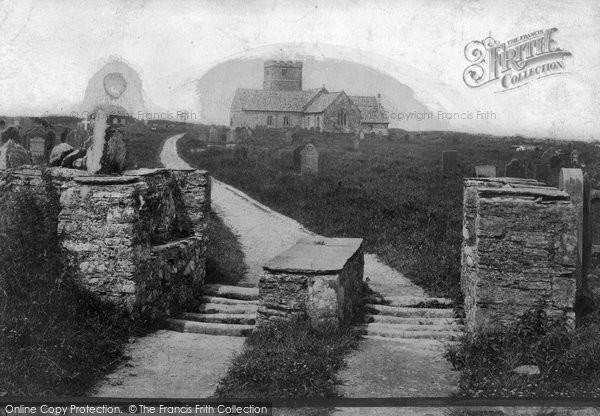 Photo of Tintagel, 1906