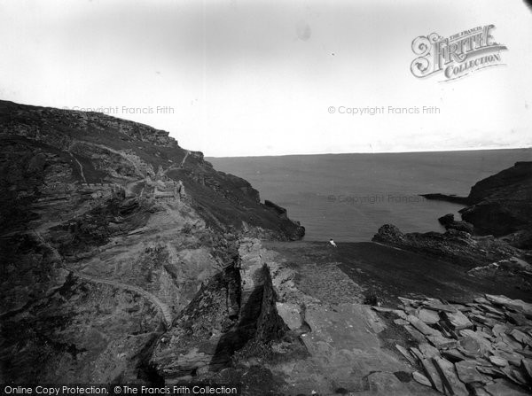 Photo of Tintagel, 1936
