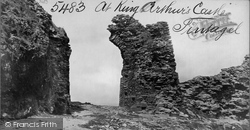 Tintagel, At King Arthur's Castle c.1870