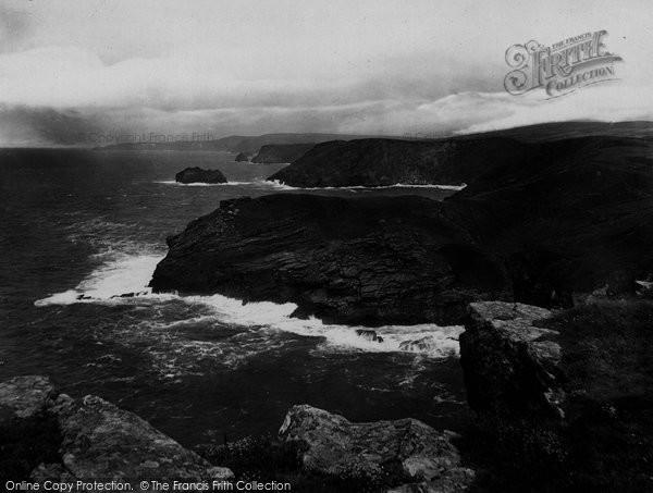 Photo of Tintagel, Barras Head 1920