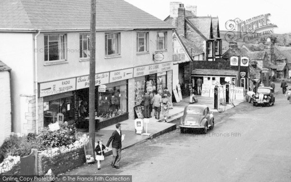 Photo of Tintagel, Businesses In Fore Street c.1960