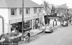 Businesses In Fore Street c.1960, Tintagel