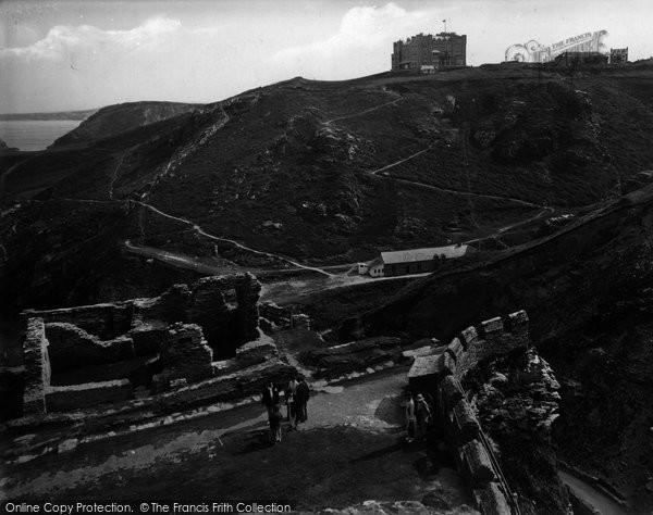 Photo of Tintagel, Castle Entrance 1936