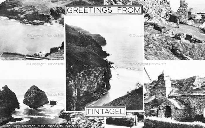 Photo of Tintagel, Composite c.1960
