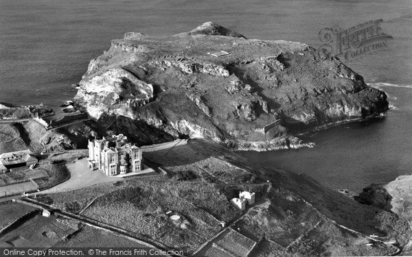 Photo of Tintagel, From The Air 1961