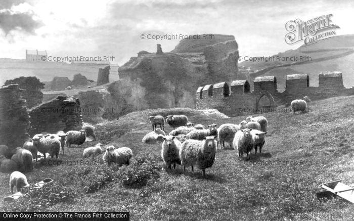 Photo of Tintagel, King Arthur's Castle 1894