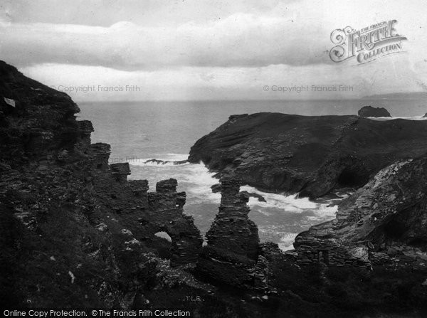 Photo of Tintagel, King Arthur's Castle 1920