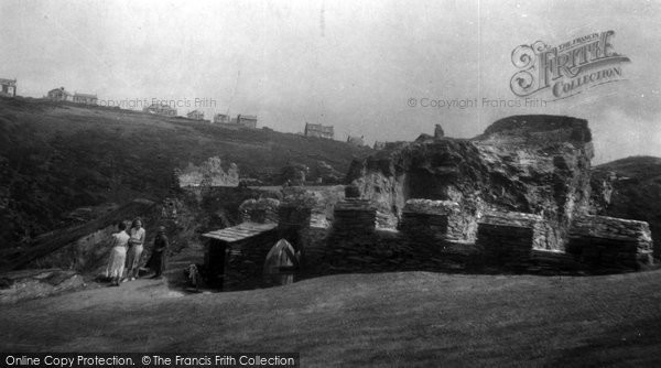 Photo of Tintagel, King Arthur's Castle 1933