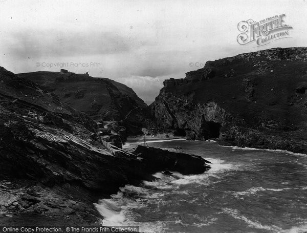 Photo of Tintagel, King Arthur's Castle And Caves 1920