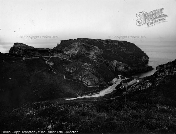 Photo of Tintagel, King Arthur's Castle And Cove 1936