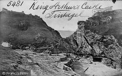 Tintagel, King Arthur's Castle c.1870