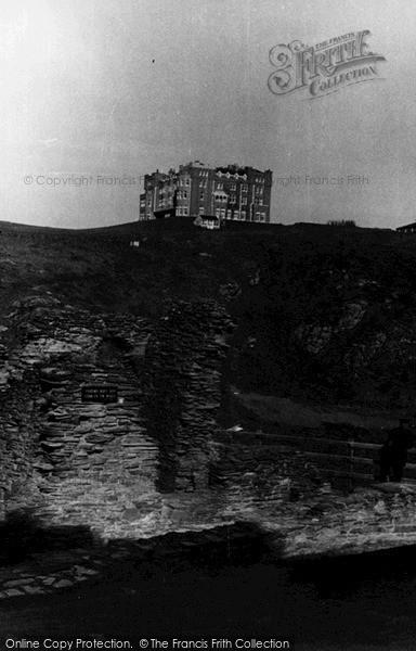 Photo of Tintagel, King Arthur's Castle Hotel c.1955