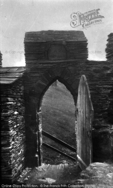 Photo of Tintagel, King Arthur's Castle, Postern Gate 1933