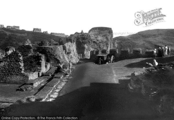 Photo of Tintagel, King Arthur's Castle, The Courtyard 1933